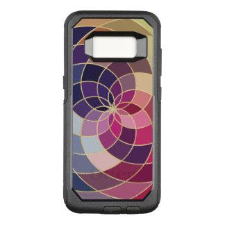Funda Commuter De OtterBox Para Samsung Galaxy S8 Diseño abstracto colorido asombroso