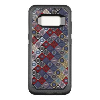 Funda Commuter De OtterBox Para Samsung Galaxy S8 Diseño abstracto colorido del modelo de la teja