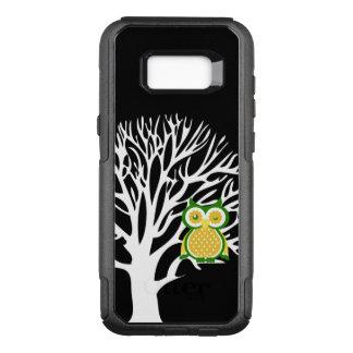 Funda Commuter De OtterBox Para Samsung Galaxy S8+ Diseño animal del búho lindo