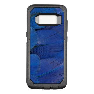 Funda Commuter De OtterBox Para Samsung Galaxy S8 Diseño azul de la pluma del Macaw del jacinto