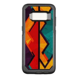Funda Commuter De OtterBox Para Samsung Galaxy S8 Diseño coloreado multi africano del modelo