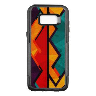 Funda Commuter De OtterBox Para Samsung Galaxy S8+ Diseño coloreado multi africano del modelo