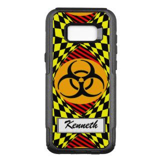Funda Commuter De OtterBox Para Samsung Galaxy S8+ Diseño del Biohazard de Kenneth Yoncich