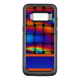 Funda Commuter De OtterBox Para Samsung Galaxy S8 Diseño del modelo de armadura de cesta