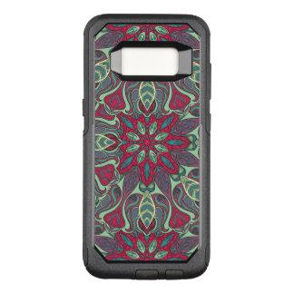 Funda Commuter De OtterBox Para Samsung Galaxy S8 Diseño rizado dibujado mano colorida abstracta del