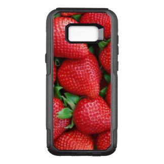 Funda Commuter De OtterBox Para Samsung Galaxy S8+ Diseño rojo del modelo de las fresas