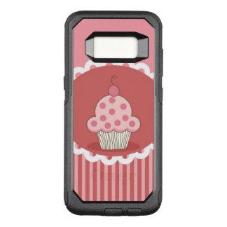 Funda Commuter De OtterBox Para Samsung Galaxy S8 Diseño rosado de la magdalena