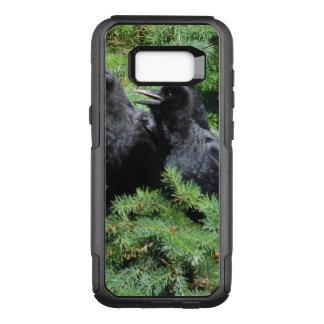 Funda Commuter De OtterBox Para Samsung Galaxy S8+ Dos cuervos
