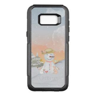 Funda Commuter De OtterBox Para Samsung Galaxy S8+ Ejemplo animal del animal de la nieve del muñeco