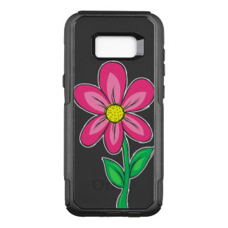 Funda Commuter De OtterBox Para Samsung Galaxy S8+ Ejemplo de la flor de la primavera