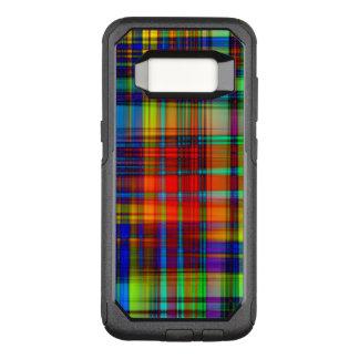 Funda Commuter De OtterBox Para Samsung Galaxy S8 El extracto colorido raya arte