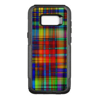 Funda Commuter De OtterBox Para Samsung Galaxy S8+ El extracto colorido raya arte