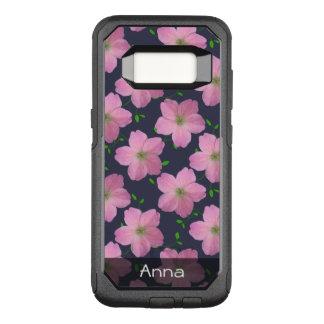 Funda Commuter De OtterBox Para Samsung Galaxy S8 El jardín rosado romántico florece el modelo