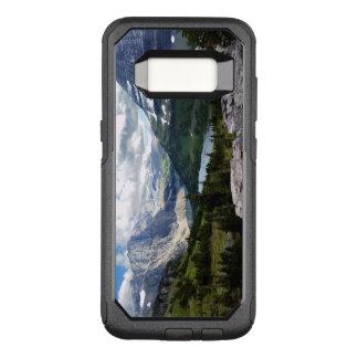 Funda Commuter De OtterBox Para Samsung Galaxy S8 El lago ocultado pasa por alto el Parque Nacional