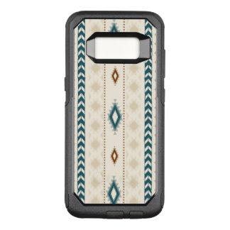Funda Commuter De OtterBox Para Samsung Galaxy S8 El neutral tribal azteca broncea el trullo beige