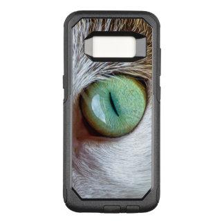 Funda Commuter De OtterBox Para Samsung Galaxy S8 El ojo de gato verde que cautiva