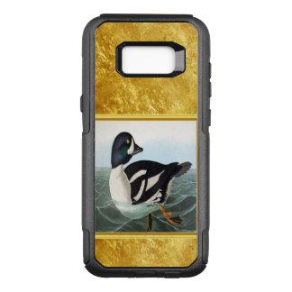 Funda Commuter De OtterBox Para Samsung Galaxy S8+ El pato silvestre blanco y negro ducks la natación
