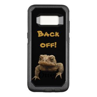 Funda Commuter De OtterBox Para Samsung Galaxy S8 El sapo americano retrocede la caja de la galaxia