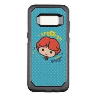 Funda Commuter De OtterBox Para Samsung Galaxy S8 Encanto de Ron Weasley Engorgio del dibujo animado