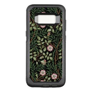 Funda Commuter De OtterBox Para Samsung Galaxy S8 Estampado de flores dulce del vintage del Briar de