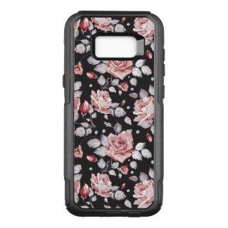 Funda Commuter De OtterBox Para Samsung Galaxy S8+ Estampado de flores rosado del vintage