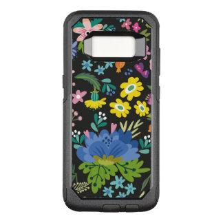 Funda Commuter De OtterBox Para Samsung Galaxy S8 Estampado de plores colorido del verano