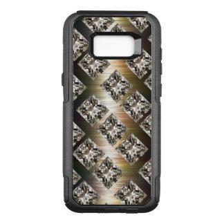 Funda Commuter De OtterBox Para Samsung Galaxy S8+ Falsas joyas glamorosas del diamante artificial