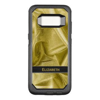 Funda Commuter De OtterBox Para Samsung Galaxy S8 : Falso negro y oro Lame metálico