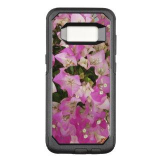 Funda Commuter De OtterBox Para Samsung Galaxy S8 Flor blanca rosada del Bougainvillea