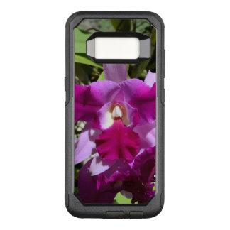Funda Commuter De OtterBox Para Samsung Galaxy S8 Flor tropical de la orquídea de Cattleya