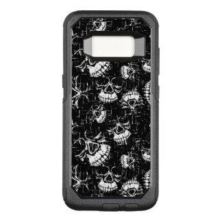 Funda Commuter De OtterBox Para Samsung Galaxy S8 fondo del cráneo
