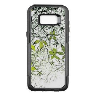Funda Commuter De OtterBox Para Samsung Galaxy S8+ Fondo floral moderno 234