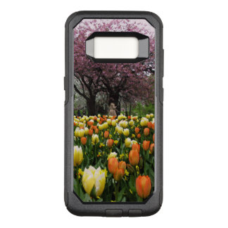 Funda Commuter De OtterBox Para Samsung Galaxy S8 Foto de los árboles de la flor del parque de la