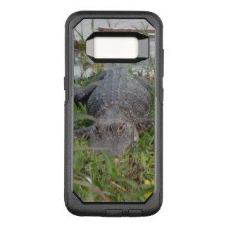 Funda Commuter De OtterBox Para Samsung Galaxy S8 Foto del cocodrilo