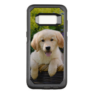 Funda Commuter De OtterBox Para Samsung Galaxy S8 Foto divertida del mascota del perrito del perro