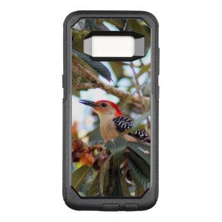 Funda Commuter De OtterBox Para Samsung Galaxy S8 Foto Rojo-Hinchada de la pulsación de corriente