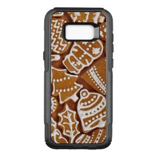 Funda Commuter De OtterBox Para Samsung Galaxy S8+ Galletas del día de fiesta del pan de jengibre del