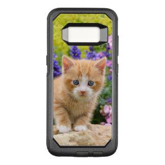 Funda Commuter De OtterBox Para Samsung Galaxy S8 Gatito mullido lindo del gato del bebé del