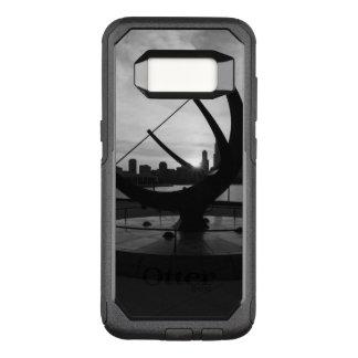 Funda Commuter De OtterBox Para Samsung Galaxy S8 Grayscale de la puesta del sol del reloj de sol