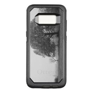 Funda Commuter De OtterBox Para Samsung Galaxy S8 Grayscale de niebla de la mañana del otoño