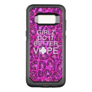 Funda Commuter De OtterBox Para Samsung Galaxy S8 Guepardo rosado Vape femenino