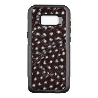 Funda Commuter De OtterBox Para Samsung Galaxy S8+ Guineafowl manchó el extracto de la pluma