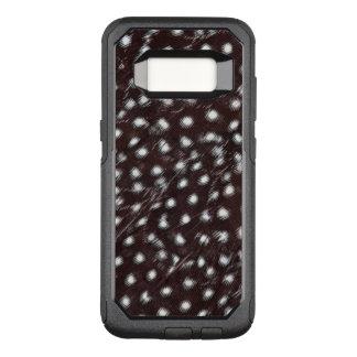 Funda Commuter De OtterBox Para Samsung Galaxy S8 Guineafowl manchó el extracto de la pluma