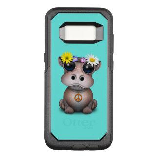 Funda Commuter De OtterBox Para Samsung Galaxy S8 Hippie lindo del hipopótamo del bebé