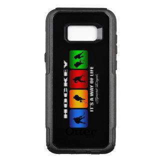 Funda Commuter De OtterBox Para Samsung Galaxy S8+ Hockey fresco es una manera de vida