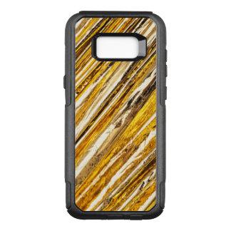 Funda Commuter De OtterBox Para Samsung Galaxy S8+ Hoja de oro brillante de Falln