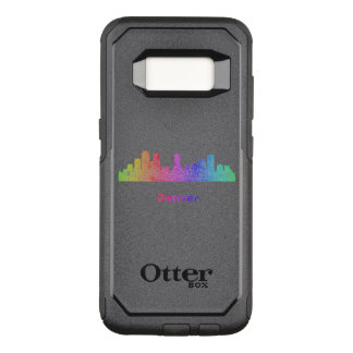 Funda Commuter De OtterBox Para Samsung Galaxy S8 Horizonte de Denver del arco iris