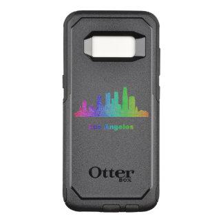 Funda Commuter De OtterBox Para Samsung Galaxy S8 Horizonte de Los Ángeles del arco iris