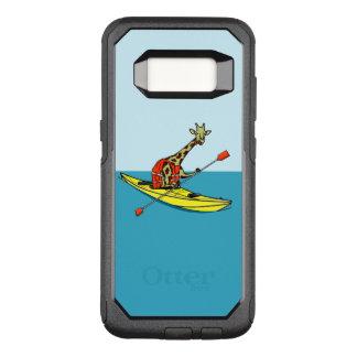 Funda Commuter De OtterBox Para Samsung Galaxy S8 Jirafa divertida kayaking