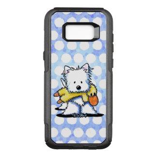 Funda Commuter De OtterBox Para Samsung Galaxy S8+ Juguete del pato de KiniArt Westie n